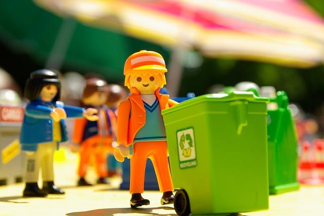 Playmobil Tri déchets