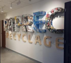 PAPREC RECYCLAGE - Centre de tri des déchets Chassieu 2